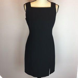 Virgo Black Dress Zipper Back Size 6